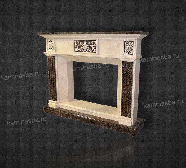 Купить мраморный камин Бордо недорого во Владимире